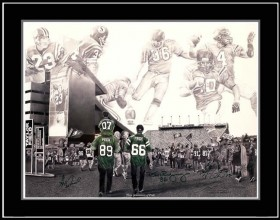 ROUGHRIDERS TEAM<br/>SIGNED PAINTING